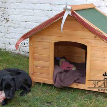 Устройство будки для собаки