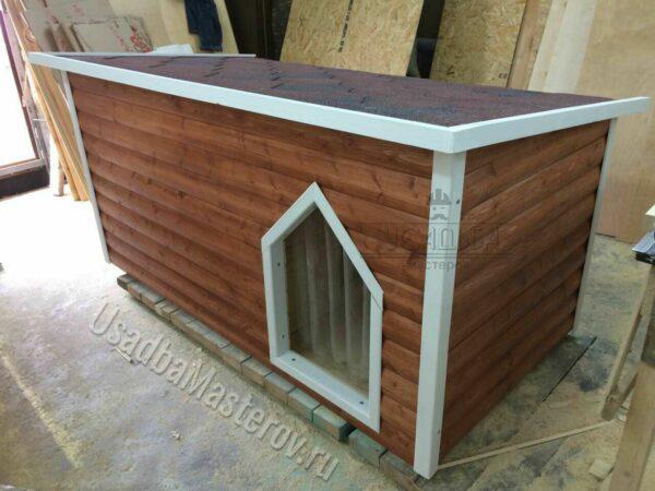 Утепленная будка для овчарки