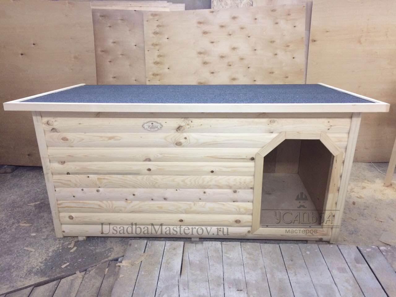 будка-с-отоплением-для-большой-собаки