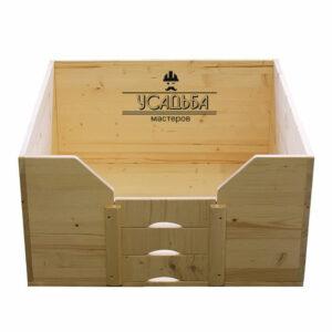 Деревянный-манеж-для-щенков-80x80x40