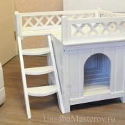 домик-для-собаки-белый-усадьбамастеров