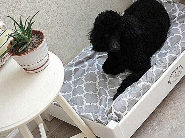 кроватка-для-пуделя-лежак-для-собаки-усадьбамастеров