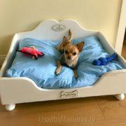 кроватка для чихуахуа 50х70 см усадьбамастеров
