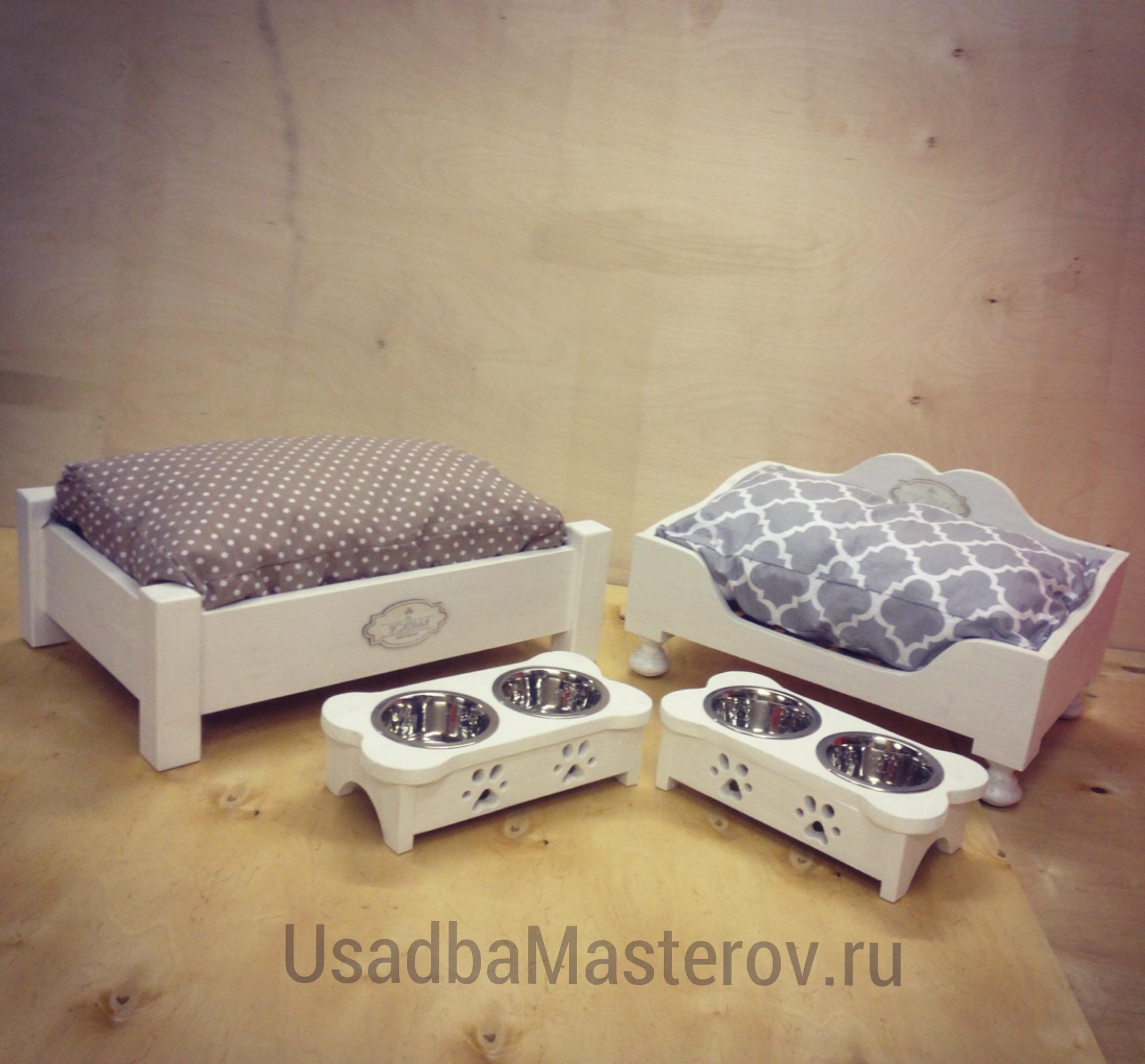 кроватки-для-собак-и-кошек-усадьбамастеров