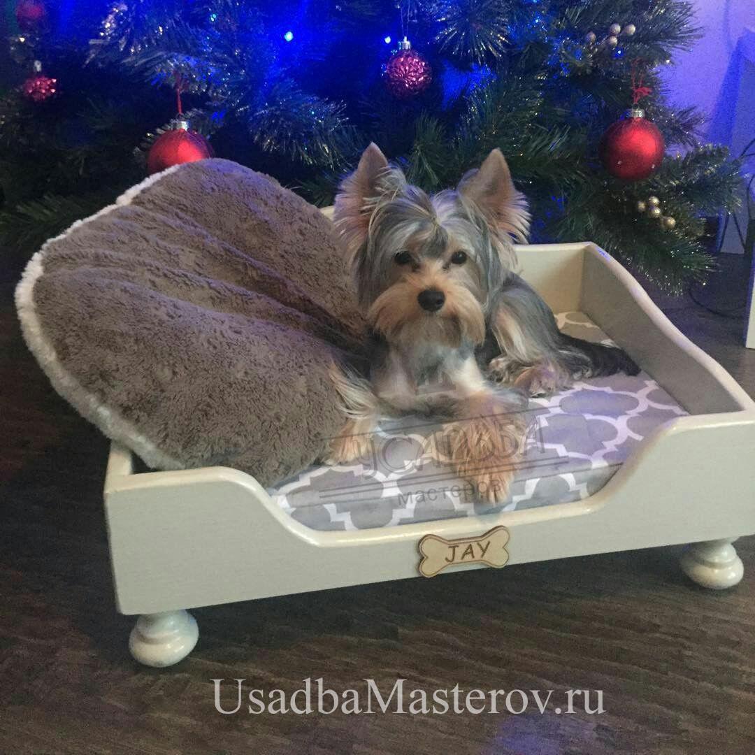 лежак-для-маленькой-собаки-