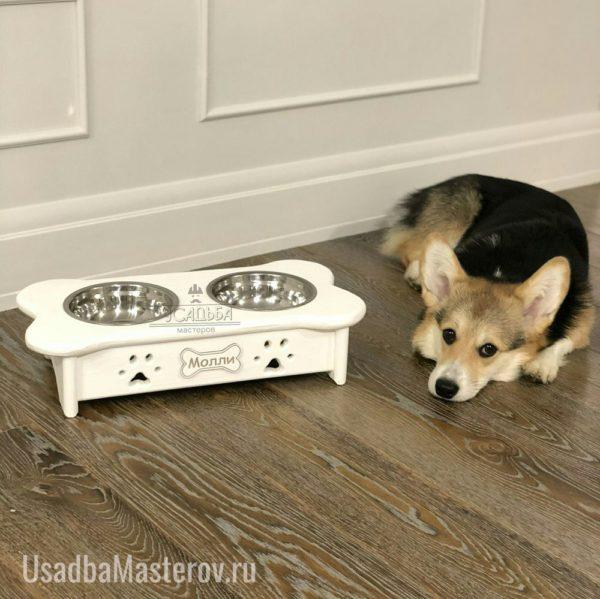 кормушка для собаки в квартиру-усадьбамастеров