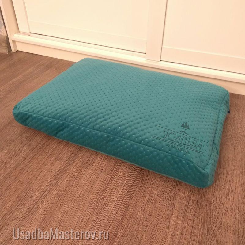 подушка для собак из мебельной ткани