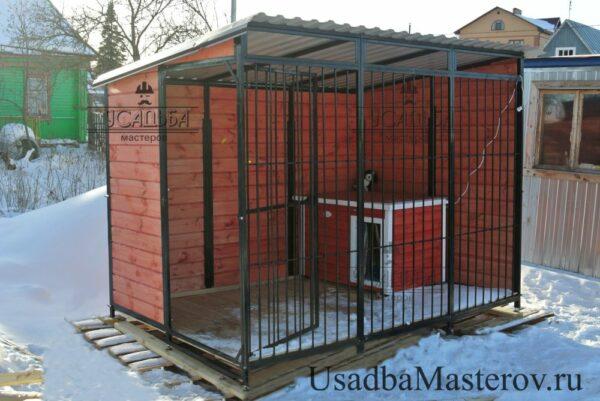 вольер-для-собаки-2х3 метра