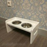 миски на подставке для кошек или собак усадьбамастеров