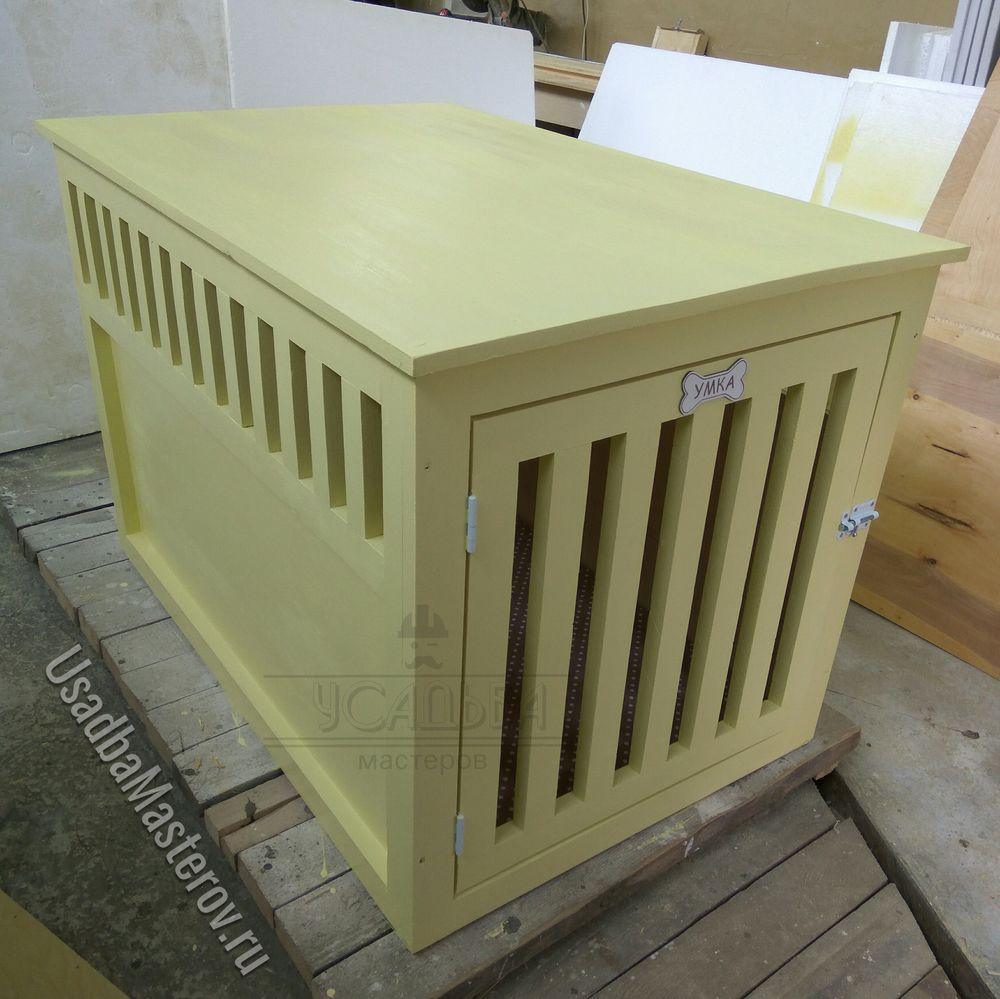 клетка для собаки 120х80х80 см