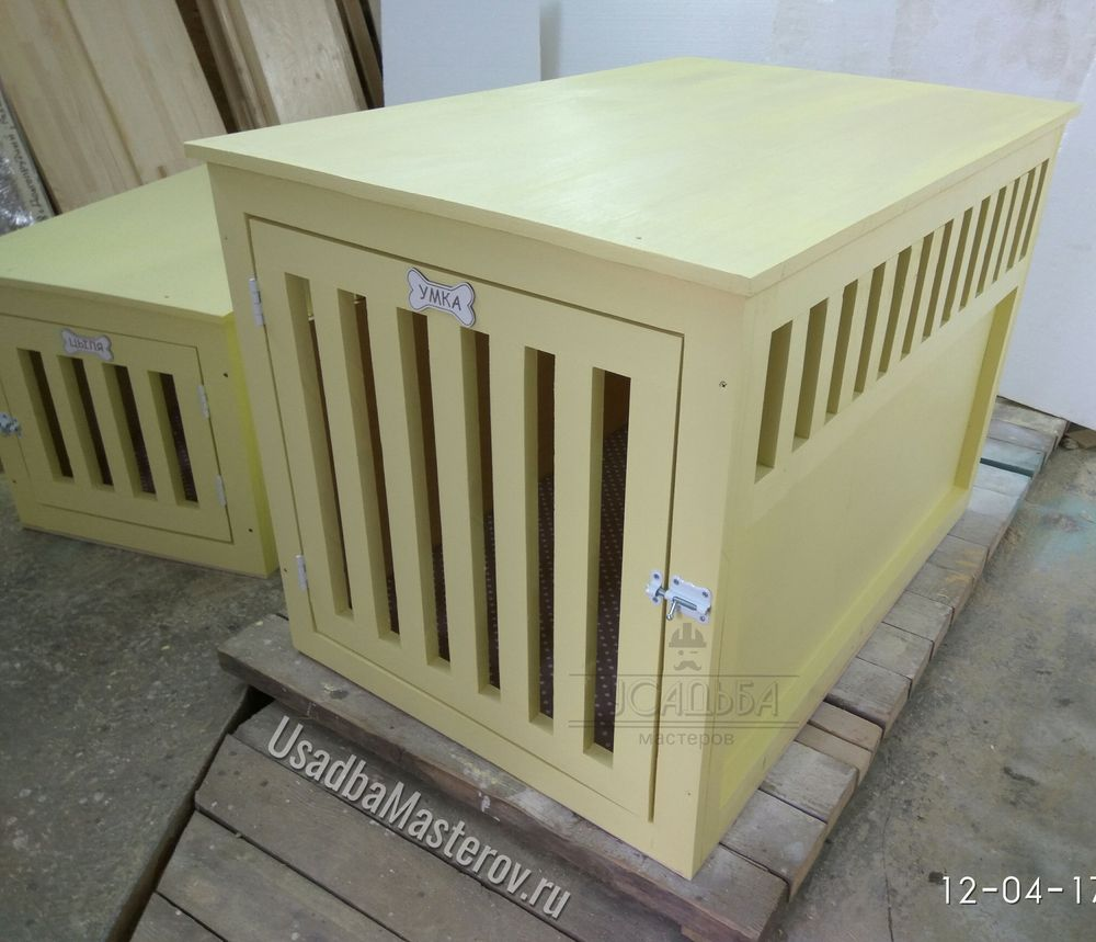 клетка для собаки 80x60x55 см