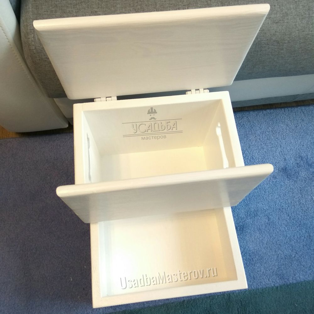 лесенка прикроватная с 2 ящиками