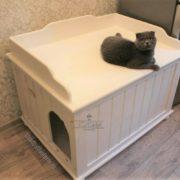 туалет для кошек закрытый усадьба