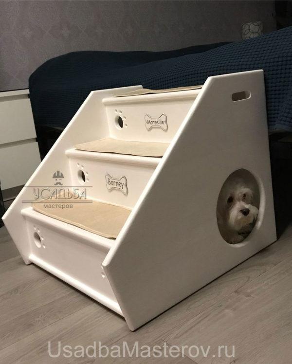 домик-лесенка-для-маленькой-собаки-в-квартиру