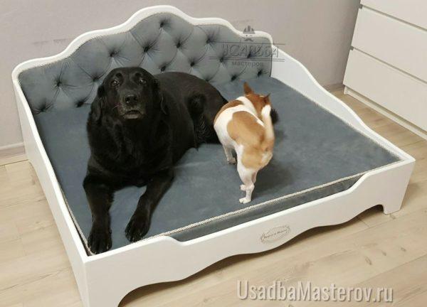 Кроватка для собак в квартиру с каретной стяжкой