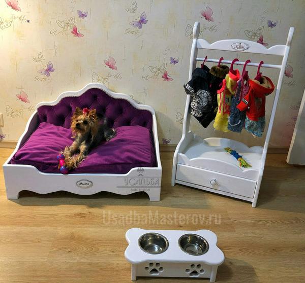 Подставка-для-собак-и-кроватка