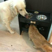 подставка с Мисками для собак и кошек 2 этажа тандем