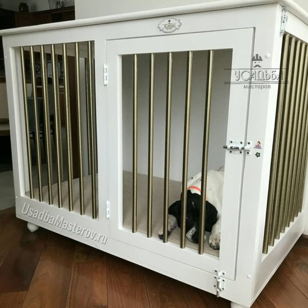 клетка-в-квартиру-для-собаки