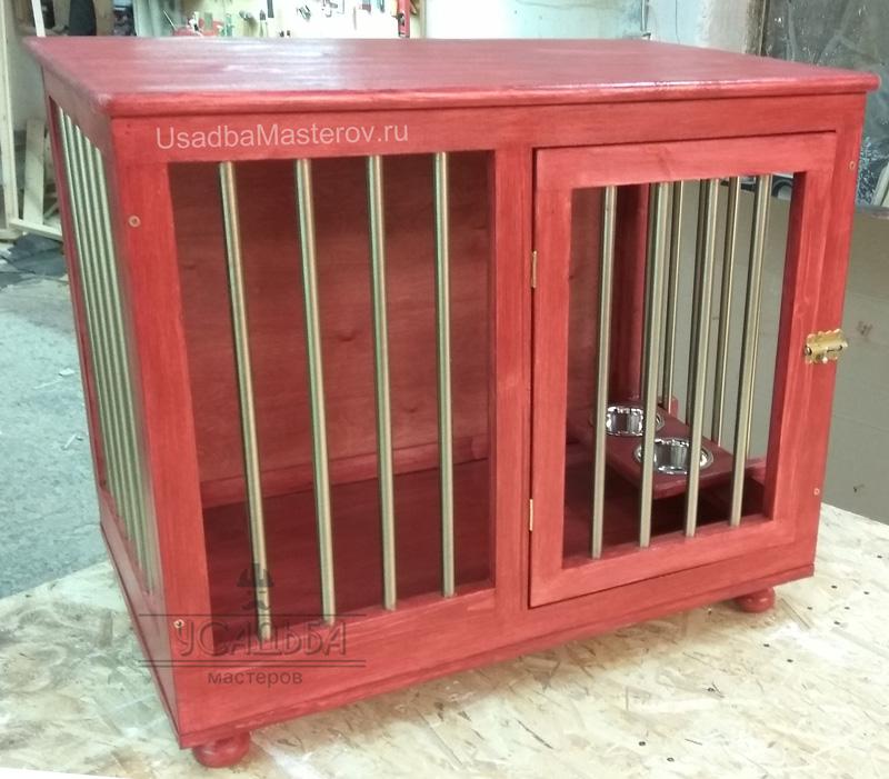 клетка-домик-для-собаки-в-квартиру