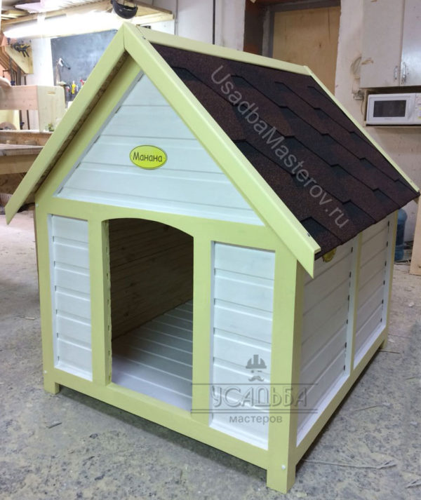 Будка для собаки в виде домика «Джой»