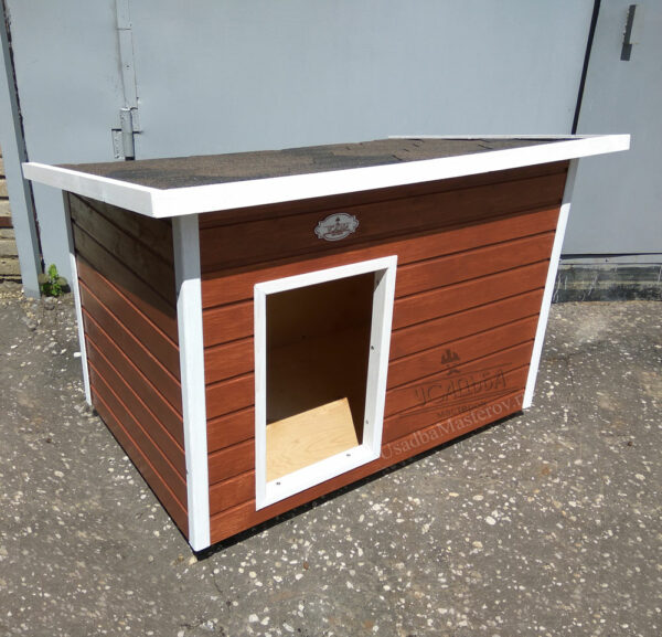 Уличная будка для собаки «Уют»