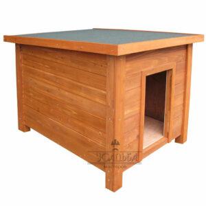 Будка для собаки прямоугольная «Веня»