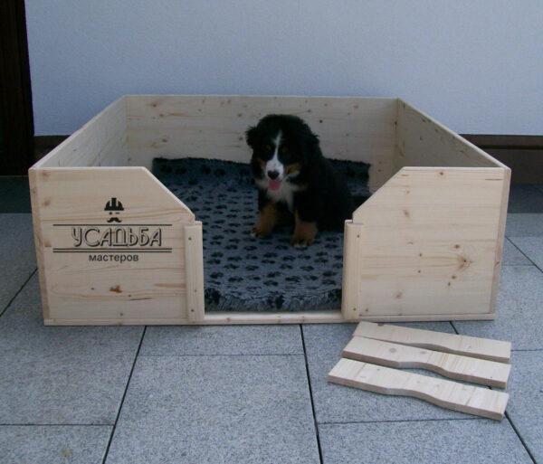 Манеж для собак 120x100x42 см
