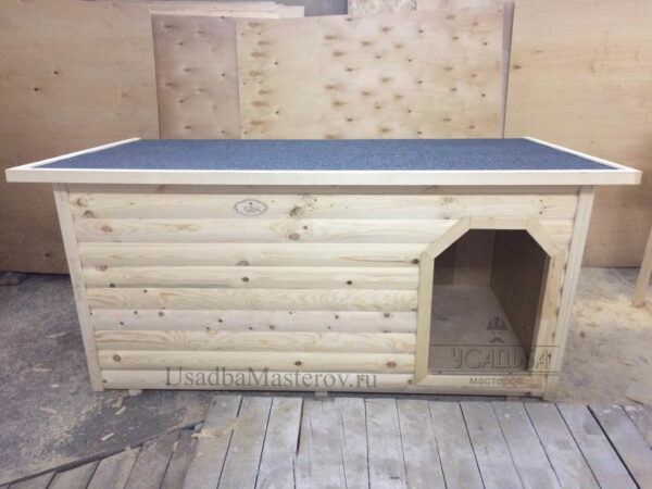 """Утепленная будка для большой собаки с тамбуром """"Питомник №1"""""""