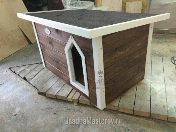 Утепленная будка для маленькой собаки — «Питомник №3»