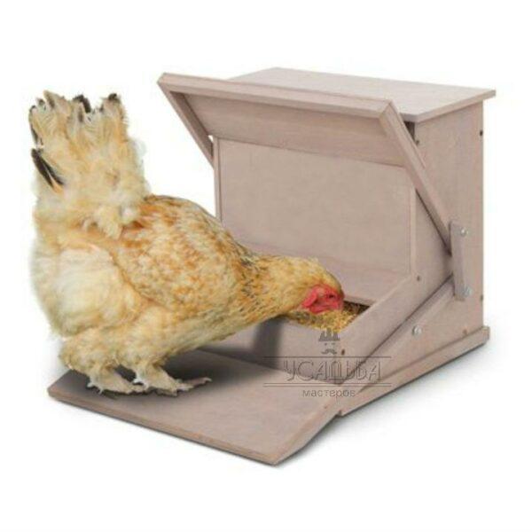 Автоматическая кормушка для кур