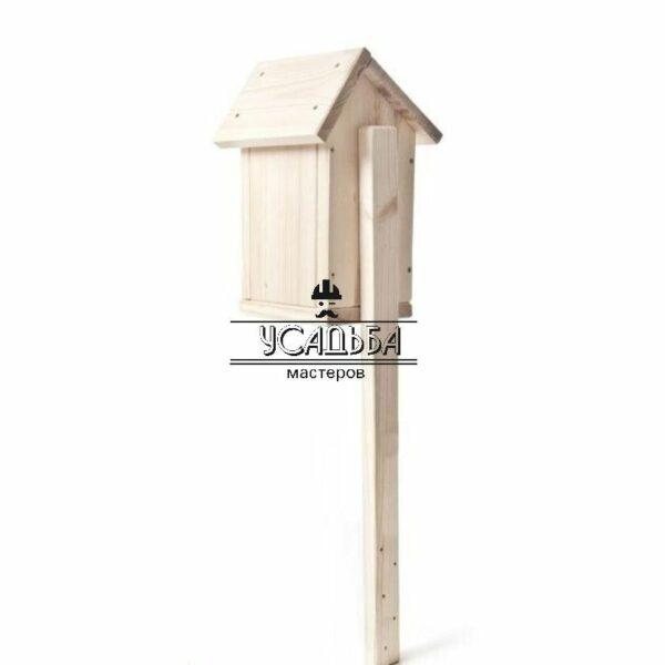Скворечник деревянный сборный 32×14 см