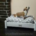 кроватка для Джек рассела из дерева