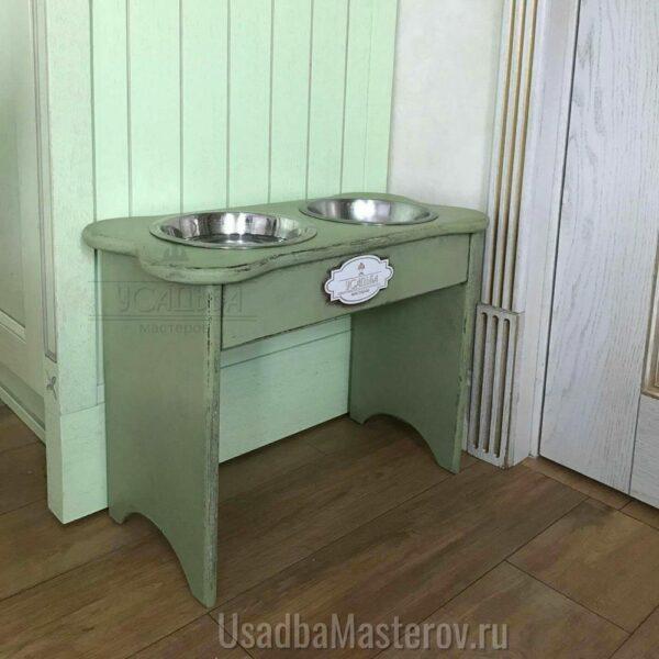 миска для собаки на подставке 40 см