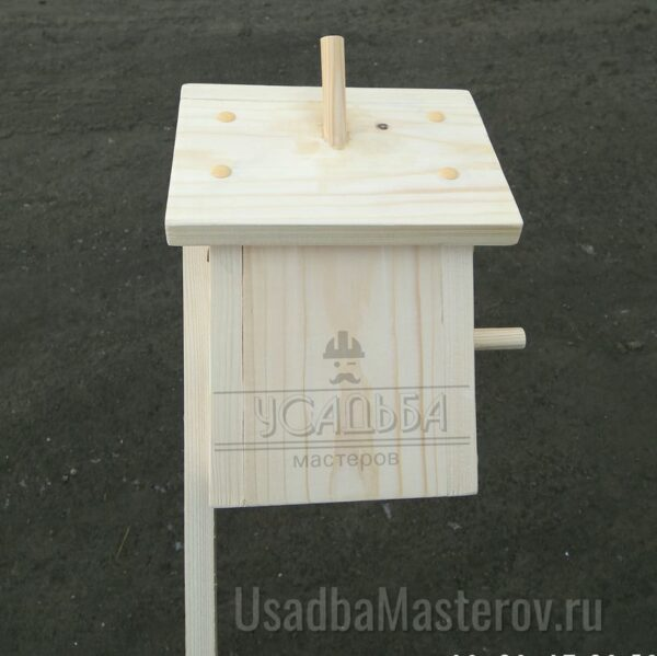 Скворечник деревянный сборный «Домик» 25×14 см