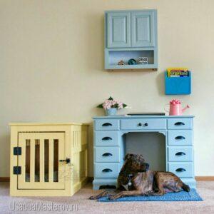 деревянная-клетка-ящик-для-собаки-в-квартиру