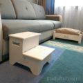 лесенка прикроватная Кроватка для собаки 55х35 см