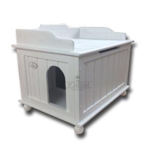 """Закрытый кошачий туалет-домик """"Комфорт"""""""
