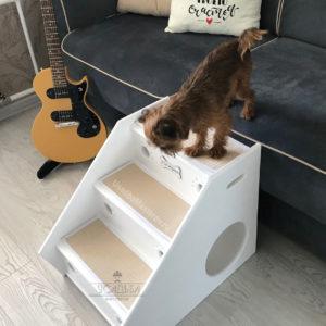 Прикроватная лесенка-домик «Три ступеньки»