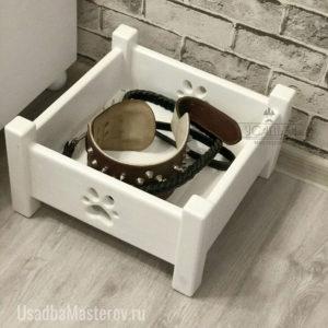 Ящик для игрушек, ошейника или поводка собаки