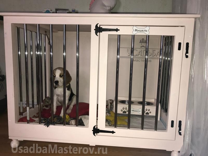 Клетка-для-Бигля-в-квартиру-усадьбамастеров