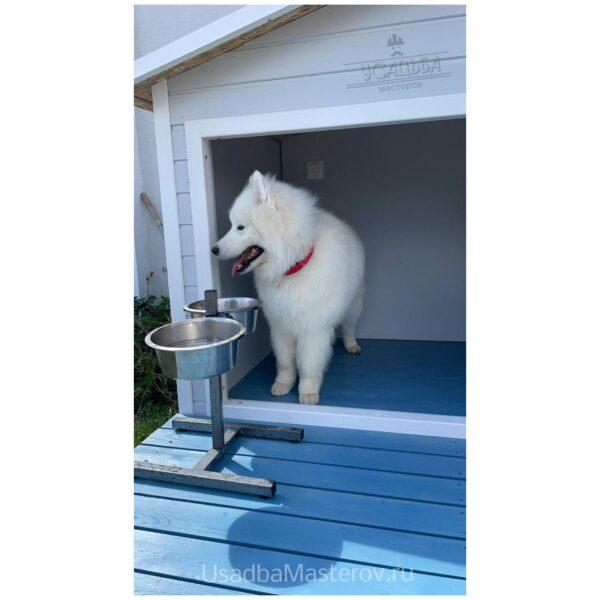 Будка для собаки с тамбуром «Комфорт»