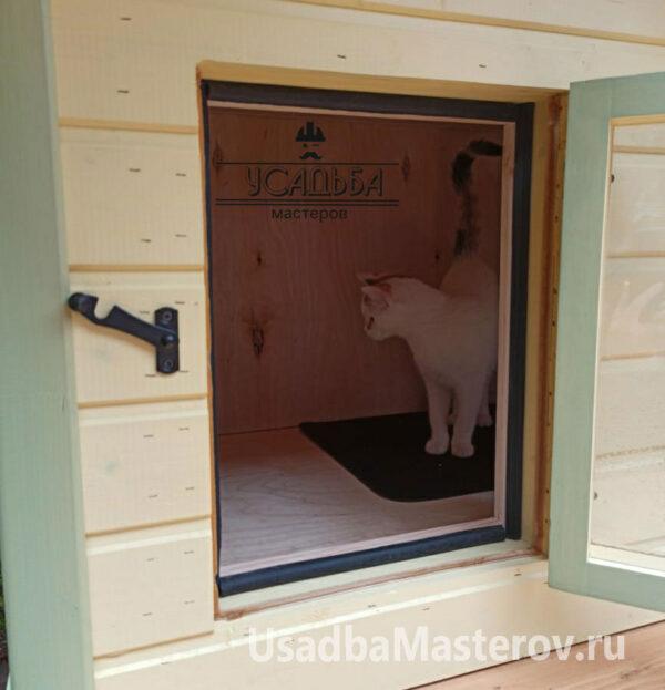 """Будка для кошек """"Кошкин дом"""""""