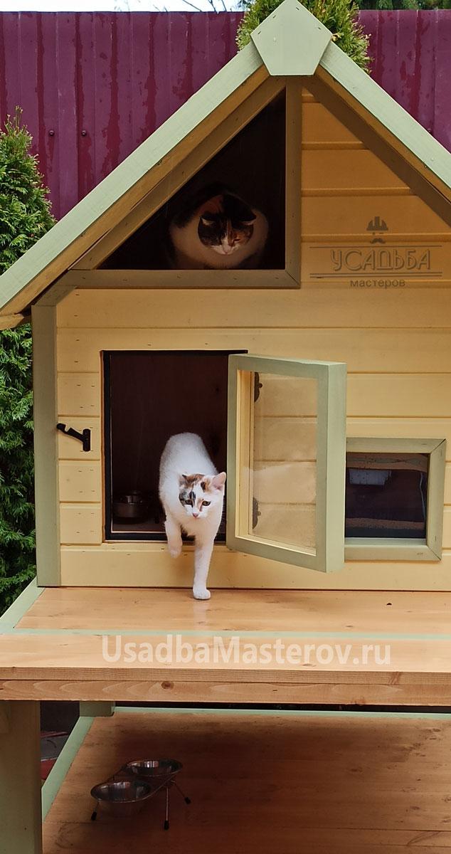 домик-для-кошек-на-зиму-купить