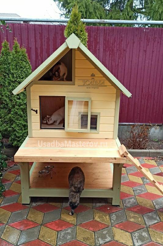 будка-для-кошки-с-подогревом-усадьба-мастеров