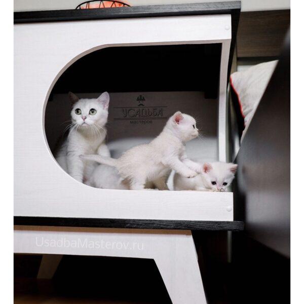 Прикроватная тумба домик для кошки или собаки