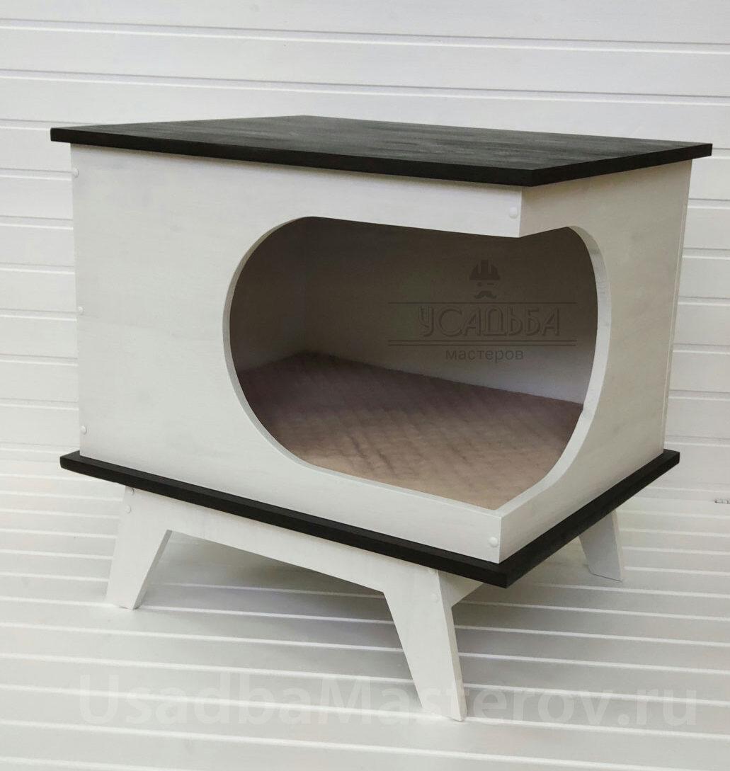 домик-тумба для кошки или собаки усадьба мастеров