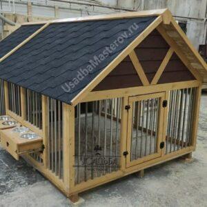 Теплый вольер для собаки «Адамс»