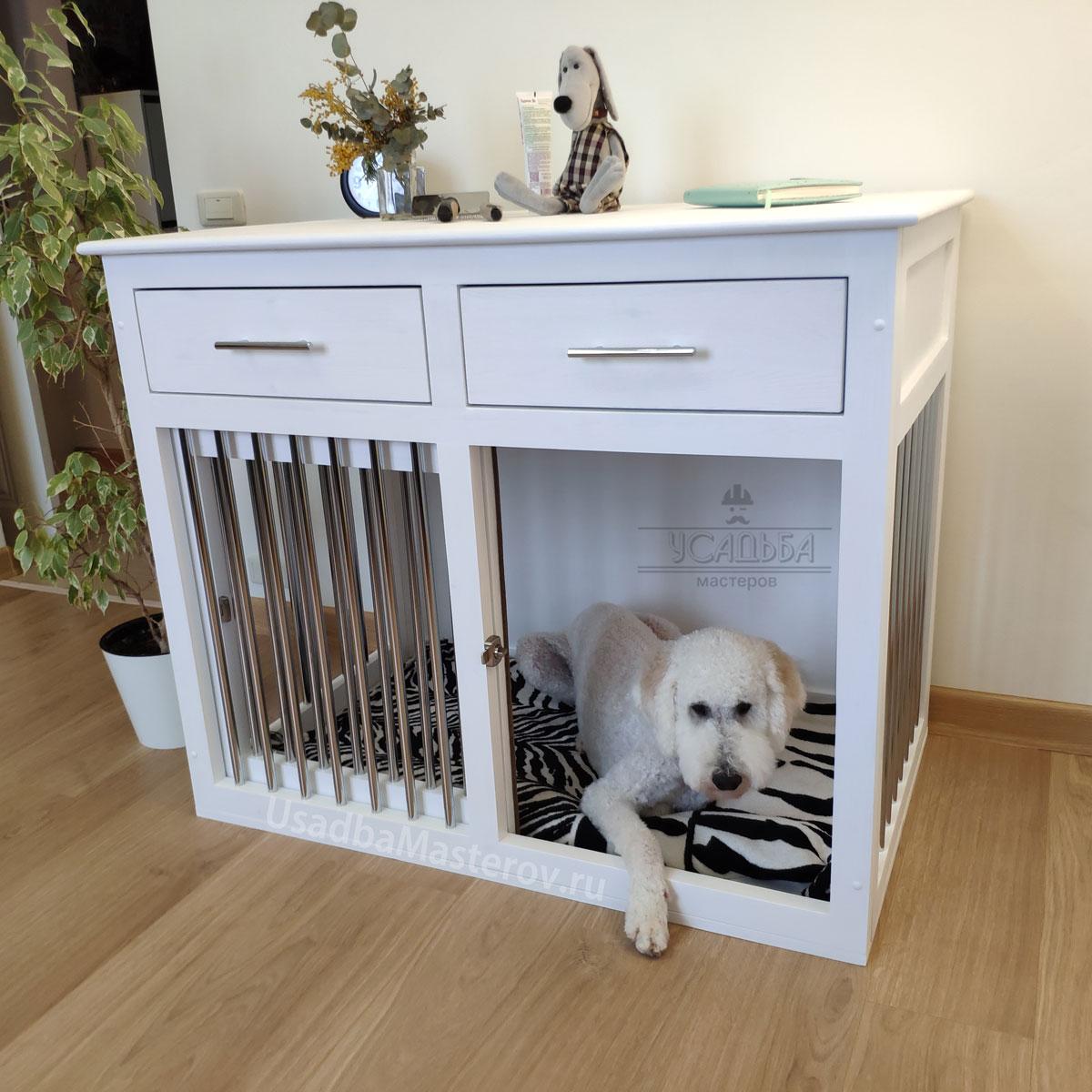 клетка-домик-для-собаки